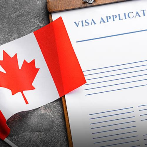 What is the meaning of tie in obtaining a Canadian visa?